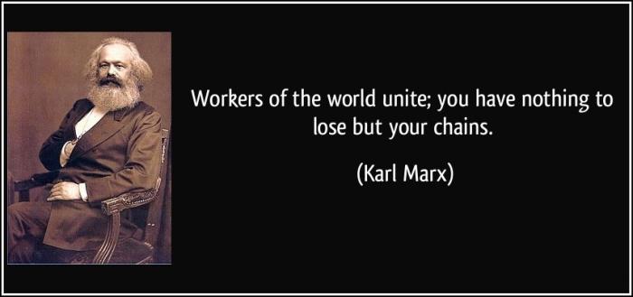 workers unite karl marx